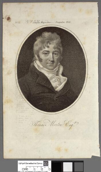 Thomas Morton Esqr