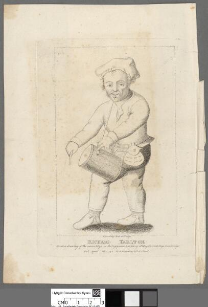 Richard Tarlton From a drawing of the same size...