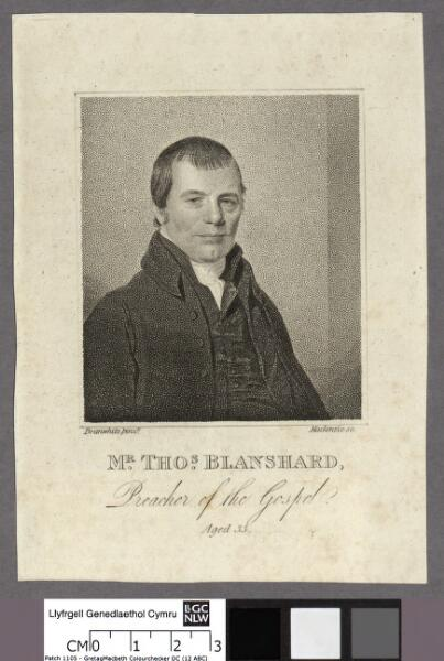 Mr. Thos. Blanshard Preacher of the Gospel....
