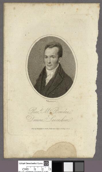 Revd. Mr. Bowden Darwin, Lancashire