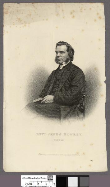 Revd. James Bowrey London