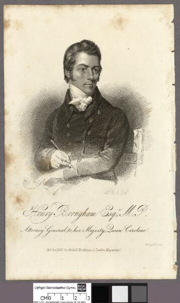 Henry Brougham Esqe. M.P Attorney General to...