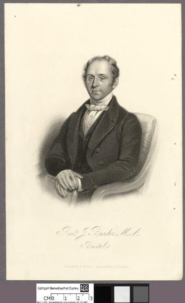 Revd. J. Burder, M.A., Bristol