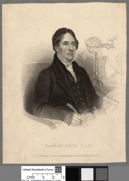 Thomas Dick, L.L.D author of the Christian...