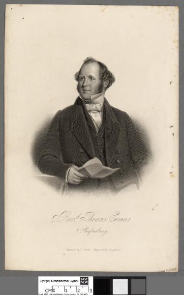 Revd. Thomas Evans, Shaftesbury