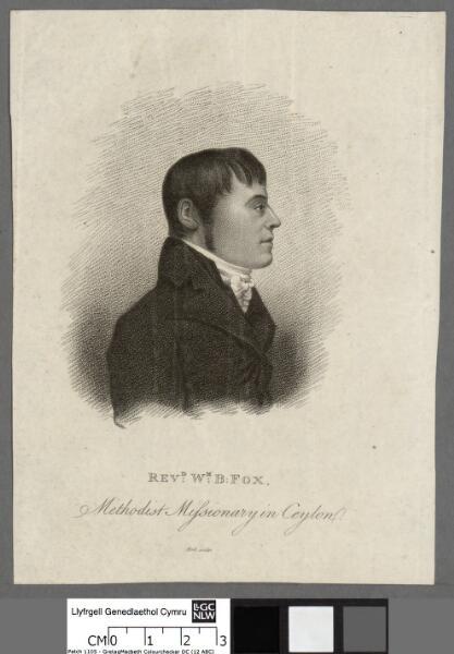 Revd. Wm. B. Fox Methodist missionary in Ceylon