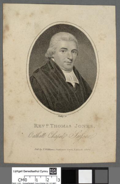 Revd. Thomas Jones, Oathall Chapel, Sussex
