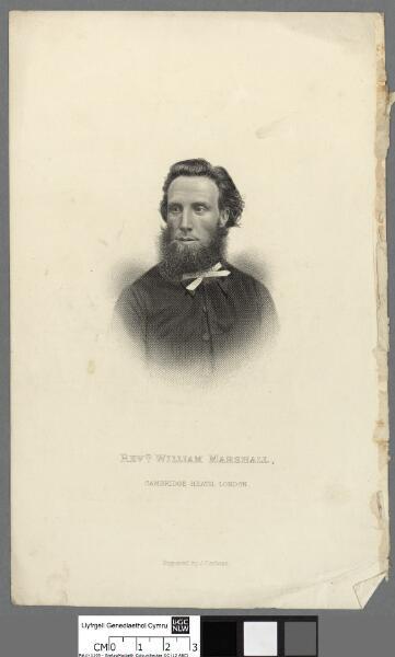 Revd. William Marshall, Cambridge Heath, London