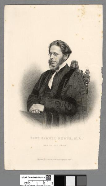Revd. Samuel Newth, M.A., New College, London