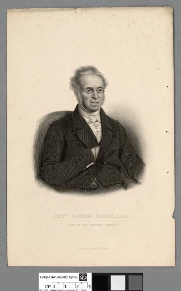 Revd. George Payne, L.L.D late of the Western...
