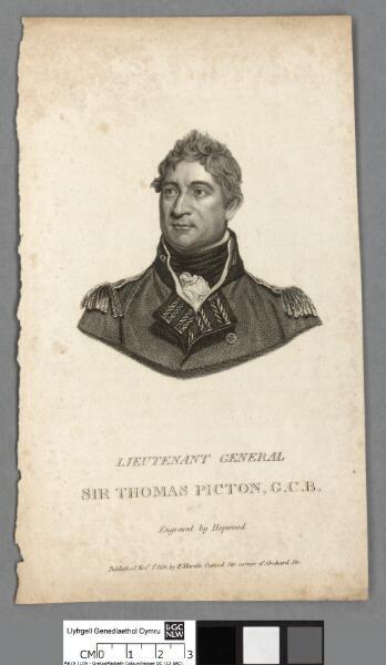 Lieutenant General Sit Thomas Picton, G.C.B
