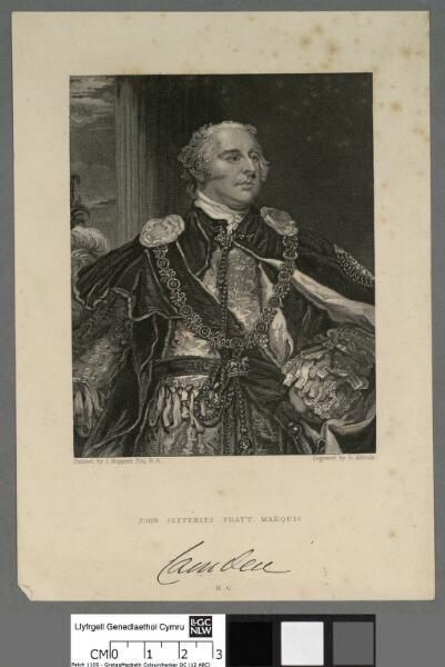 John Jefferies Pratt, Marquis Camden K.G