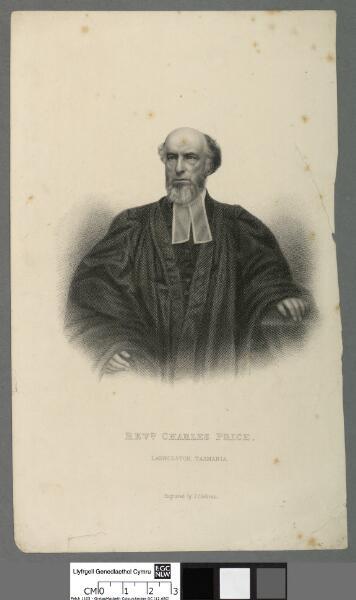 Revd. Charles Price Launceston, Tasmania