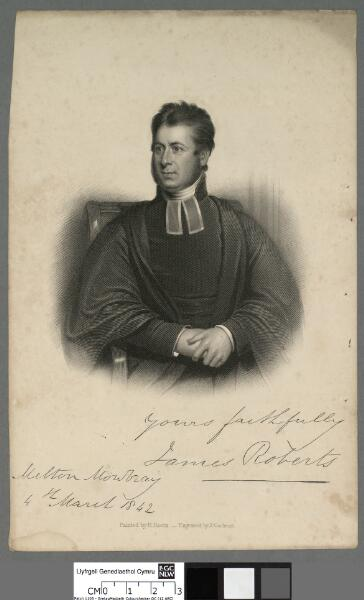 James Roberts Melton Mowbray, 4th March 1842