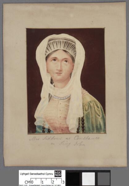 Mrs Siddons as Constance in King John