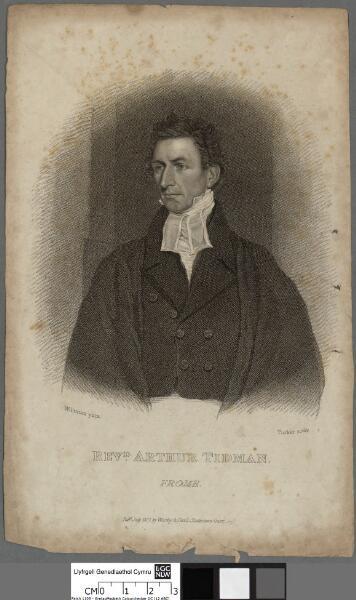 Revd. Arthur Tidman, Frome