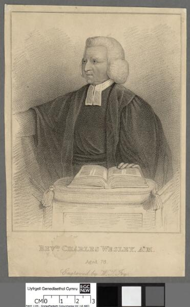 Charles Wesley, A.M aged 76