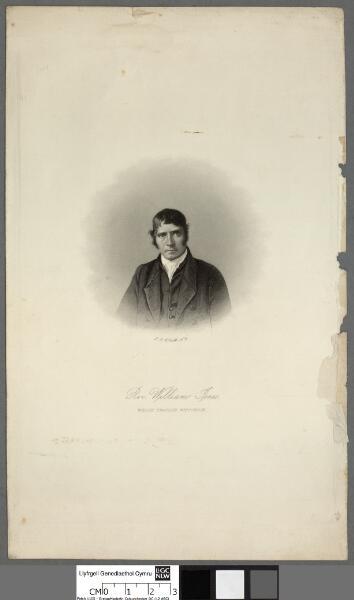 Rev. William Jones, Welsh Prairie, Wisconsin