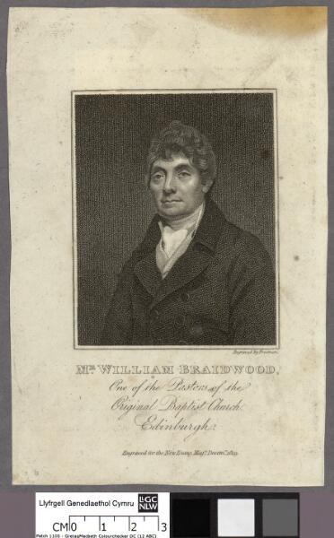 Mr. William Braidwood one of the Pastors of the...