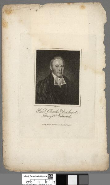Revd. Charles Dewhurst, Bury St. Edmonds