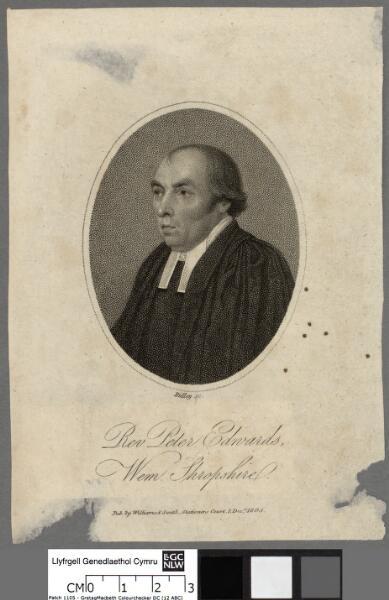 Rev. Peter Edwards, Wem, Shropshire