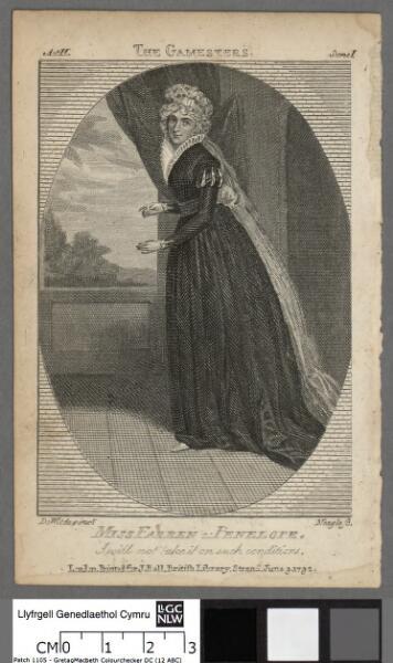 Miss Farren as Penelope