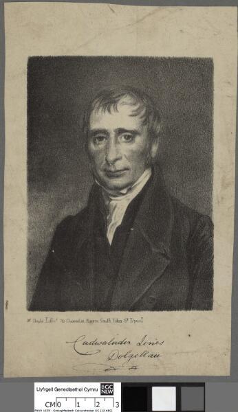 Cadwalader Jones, Dolgellau