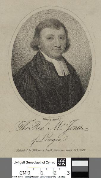 The Revd. Mr. Jones of Langan