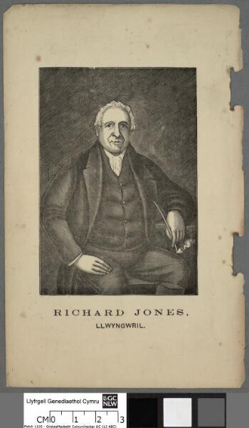 Richard Jones, Llwyngwril