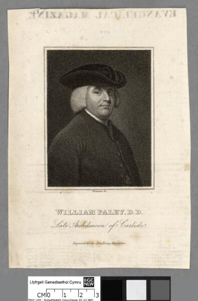William Paley, D.D Late Archdeacon of Carlisle