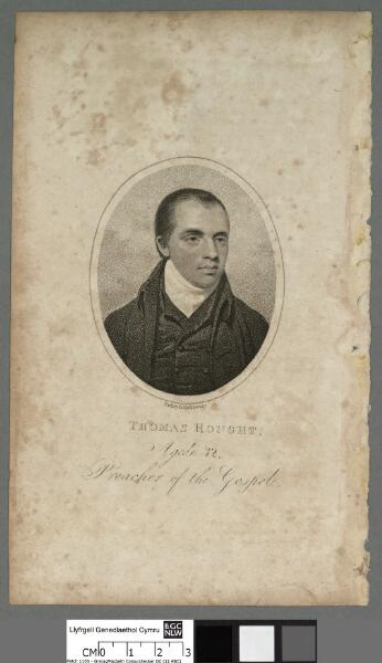 Thomas Rought, aged 32 preacher of the Gospel