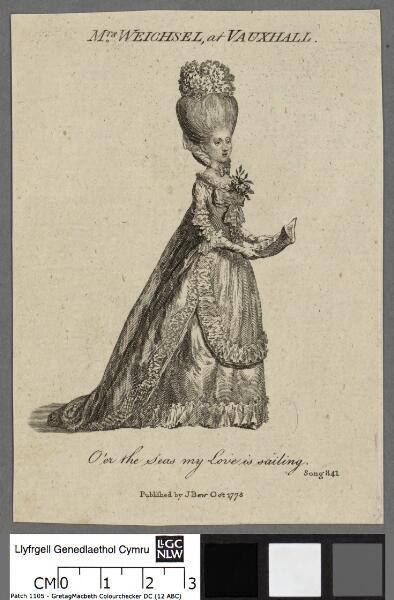 Mrs. Weichsel, at Vauxhall