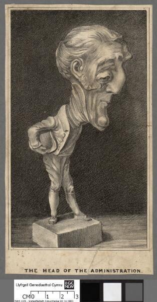 Arthur Wellesley, Duke of Wellington the Head...
