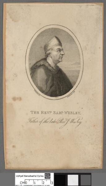 The Revd. Saml. Wesley father of the late Revd....