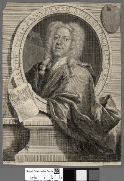 Jakob Campo Weyerman abderites aetatis 48