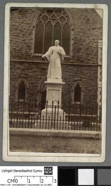 Statue of Thomas Charles at Bala