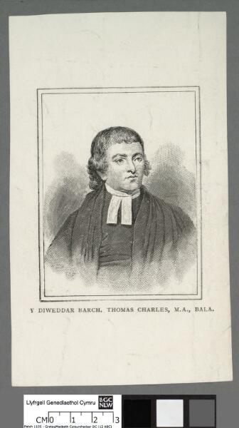 Y diweddar Barch. Thomas Charles, M.A., Bala