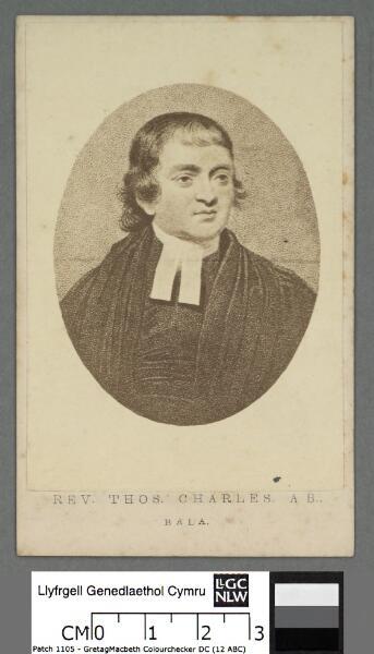 Rev. Thos. Charles, A. B., Bala