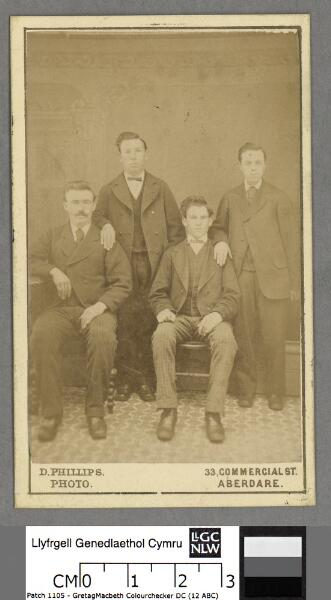 William Evans, Cross Keys and colleagues