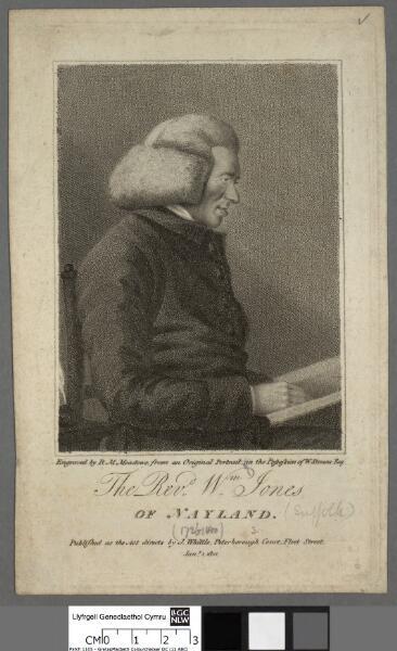 The Revd. Wm. Jones of Nayland