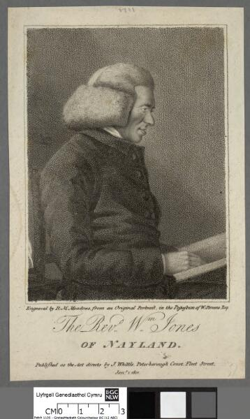 The Revd. Wm. Jones of Nayland