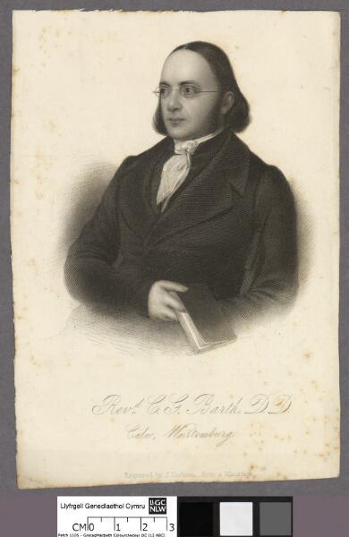 Revd. C. G. Barth, D.D Calw, Wurtemburg