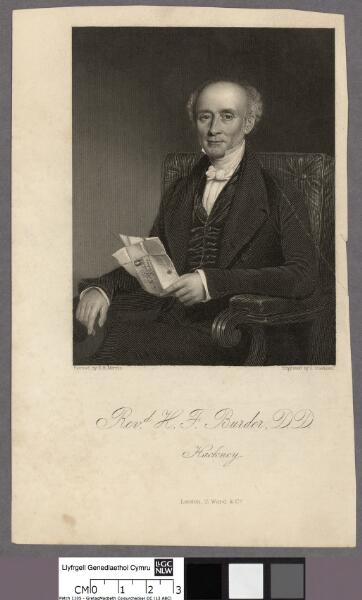 Revd. H. F. Burder, D.D., Hackney