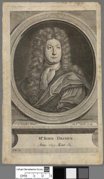 Mr. John Dryden anno 1693, aetat 62