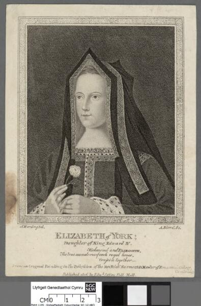 Elizabeth of York daughter of King Edward IV