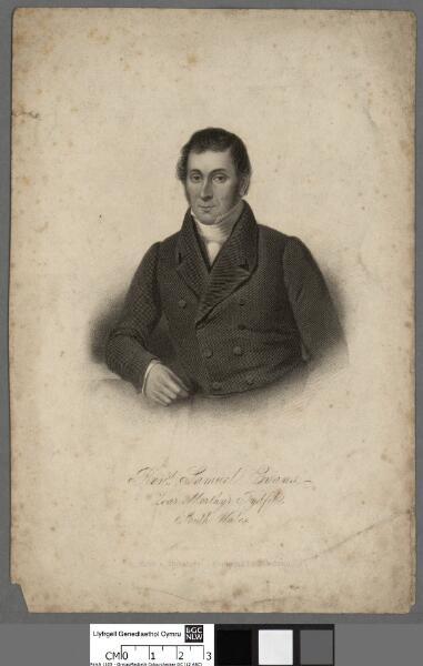 Revd. Samuel Evans, Zoar, Merthyr Tydfil, South...