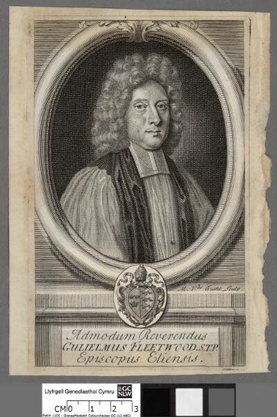 Admodum Reverendus Guiliemus Fleetwood. S.T.P....