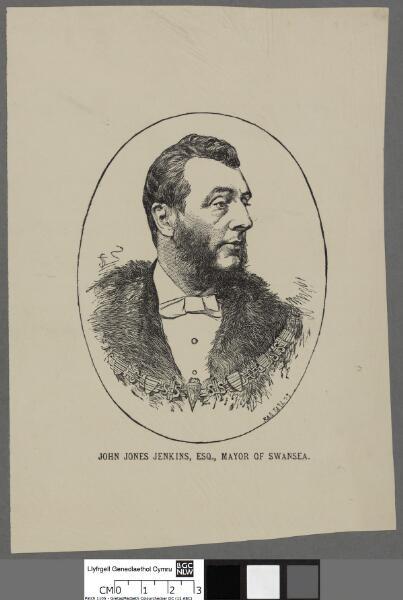 John Jones Jenkins, Esq Mayor of Swansea