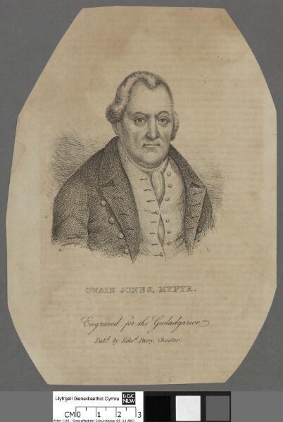 Owain Jones, Myfyr