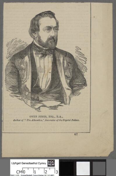 """Owen Jones, Esq., R.A author of """"The..."""